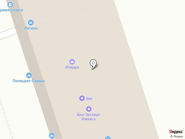 Спецтех на карте Ижевска