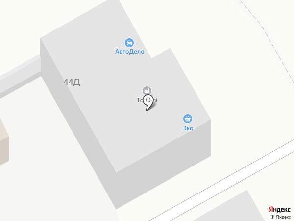 АвтоДело на карте Ижевска