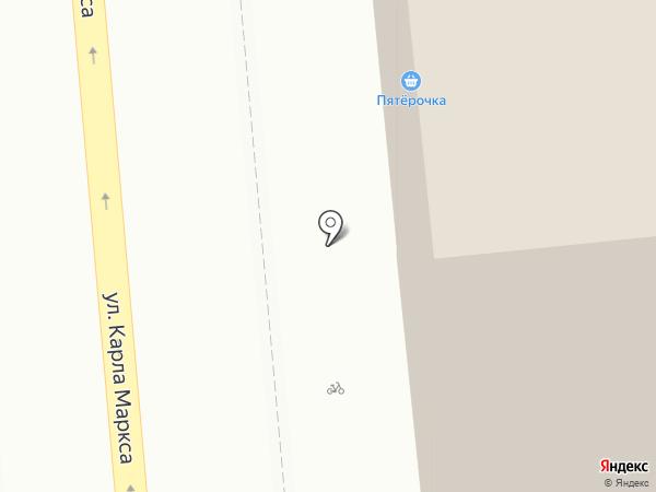 Пятёрочка на карте Ижевска
