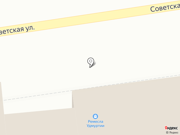 Национальный центр декоративно-прикладного искусства и ремесел Удмуртской Республики на карте Ижевска