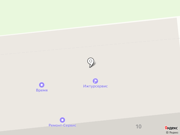 Волшебная Шкатулка на карте Ижевска