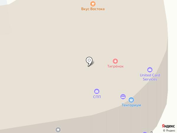 Квентин на карте Ижевска
