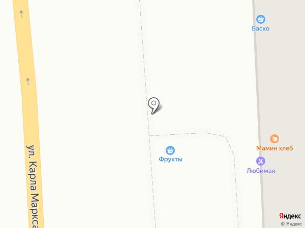 Батон на карте Ижевска