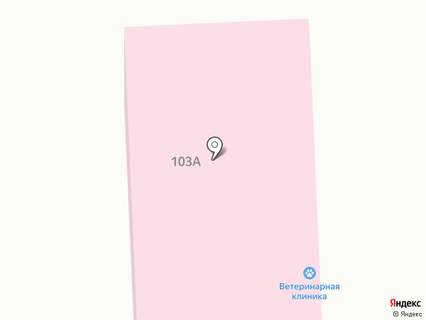 Ветеринарная лечебница на карте Ижевска
