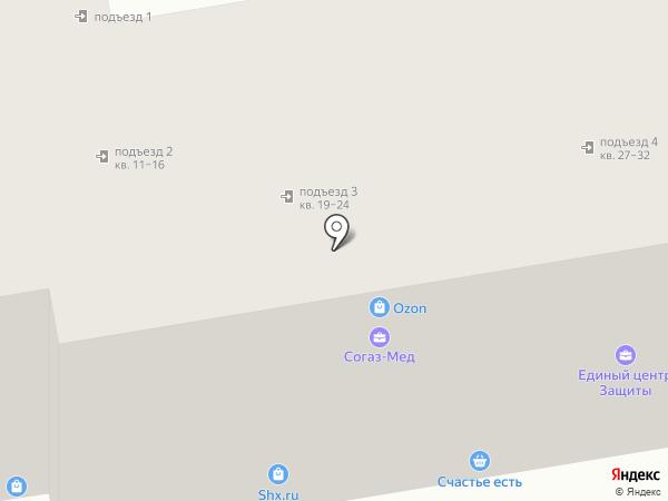 Капитал плюс на карте Ижевска