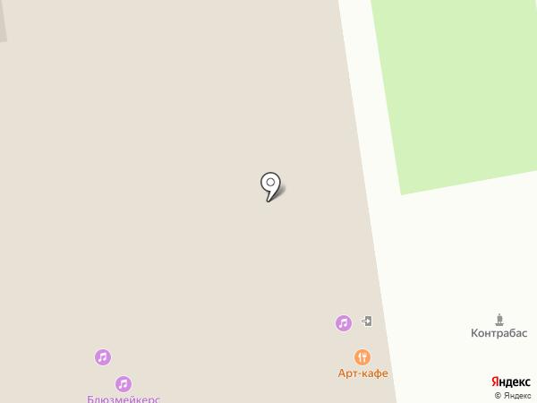 Музыкальный киоск на карте Ижевска