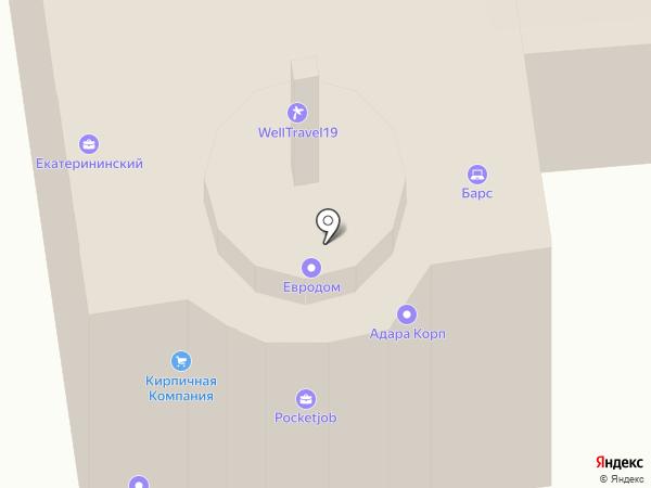 Скрапер на карте Ижевска