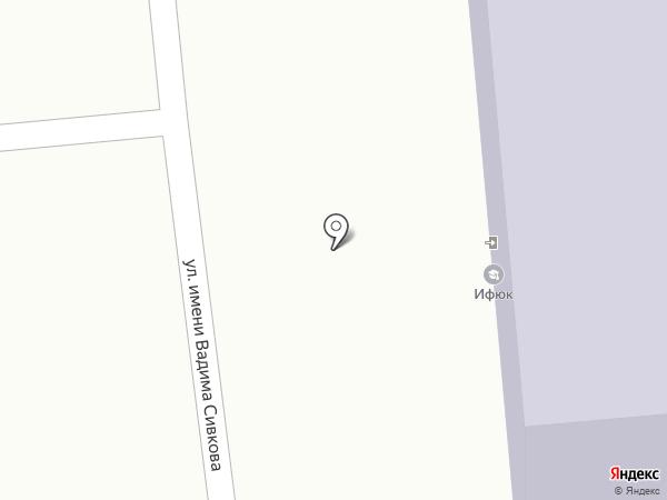 Ютера, АНО на карте Ижевска