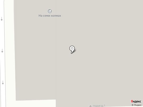 Холмогоровский на карте Ижевска