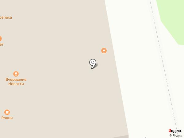 Ронни на карте Ижевска