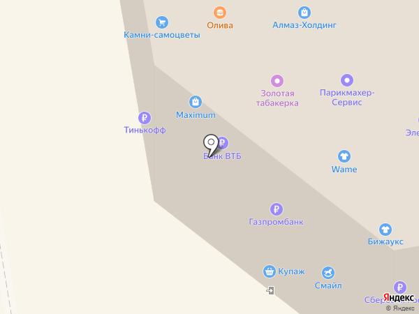 Франт на карте Ижевска