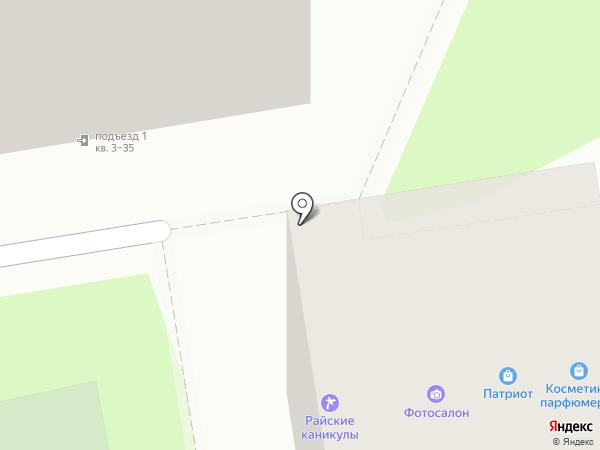 Патриот на карте Ижевска