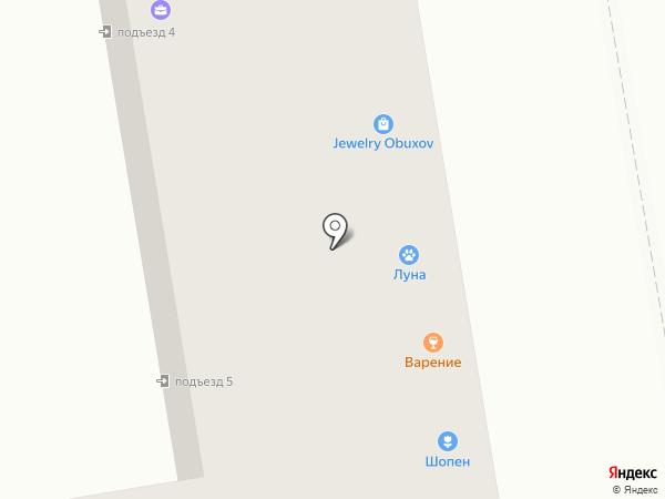 Жарко на карте Ижевска