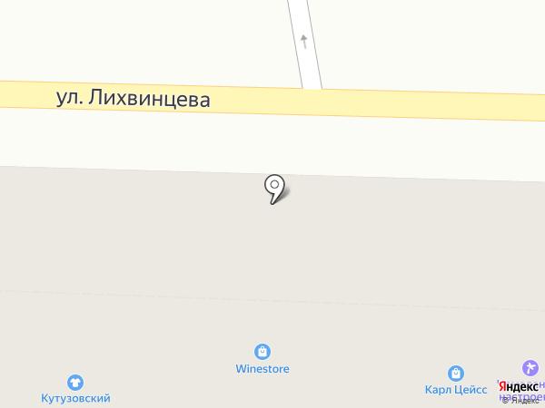 Карл Цейсс на карте Ижевска