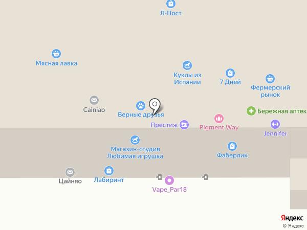 ПАПАТОМ на карте Ижевска