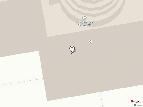Резиденция Главы Удмуртской Республики на карте Ижевска