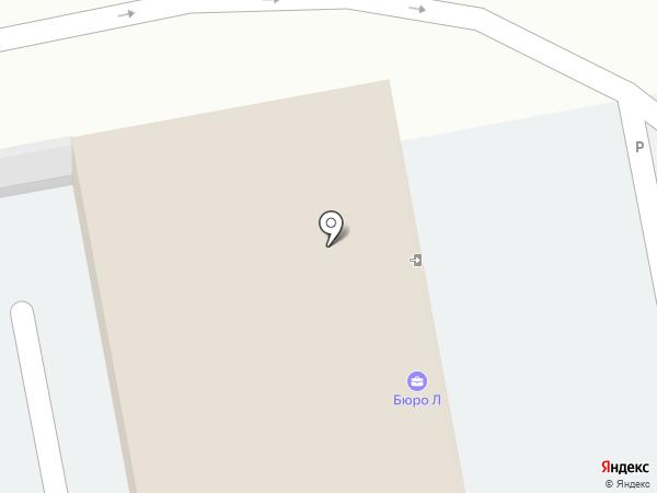 L на карте Ижевска