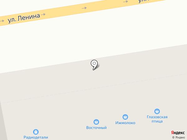 Семён Семёныч на карте Ижевска