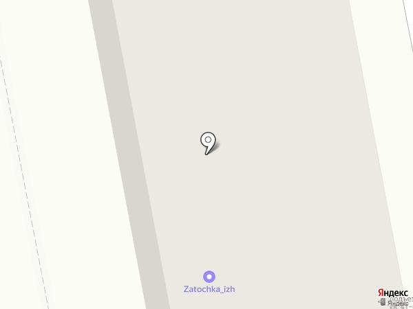 КЭМС на карте Ижевска