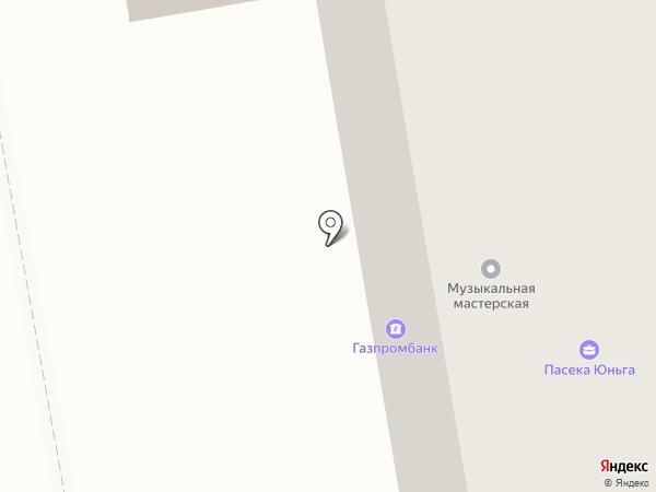Ангел на карте Ижевска