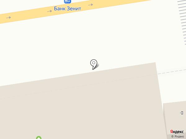 Первомайский на карте Ижевска