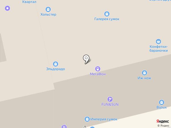 Ноготок на карте Ижевска