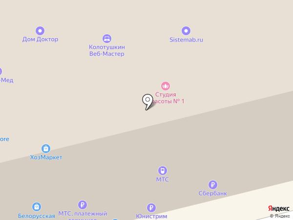 Сладких снов на карте Ижевска