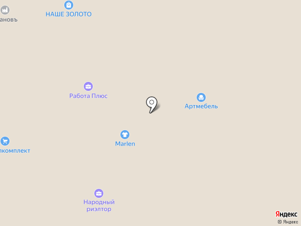 Фаббрис на карте Ижевска