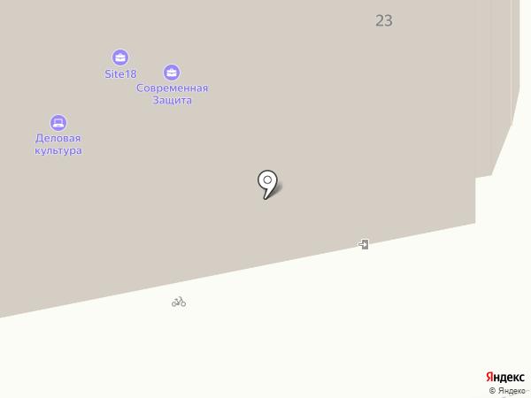 Итель на карте Ижевска