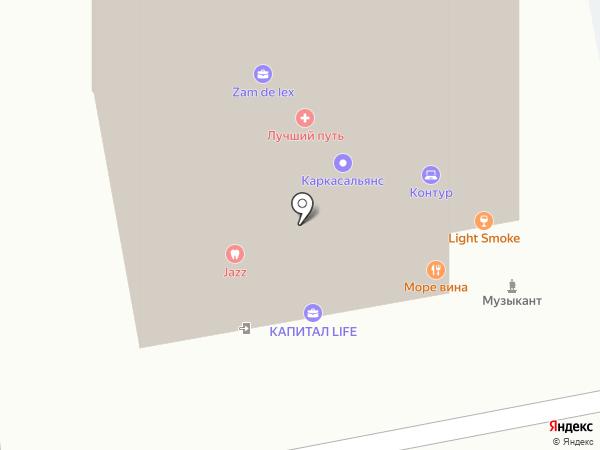Премьер на карте Ижевска