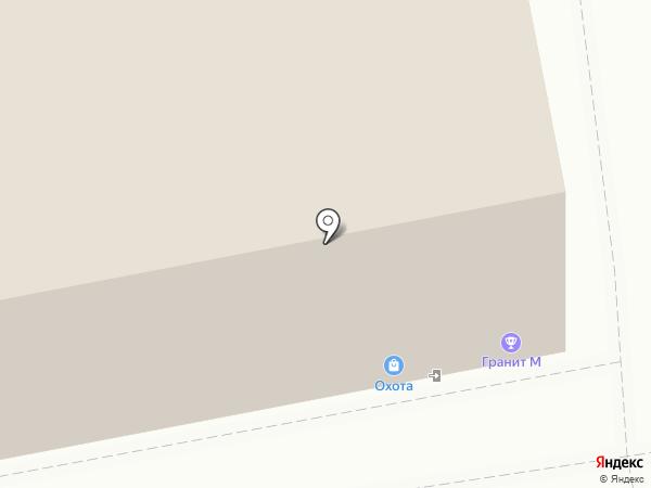 Гранит М на карте Ижевска