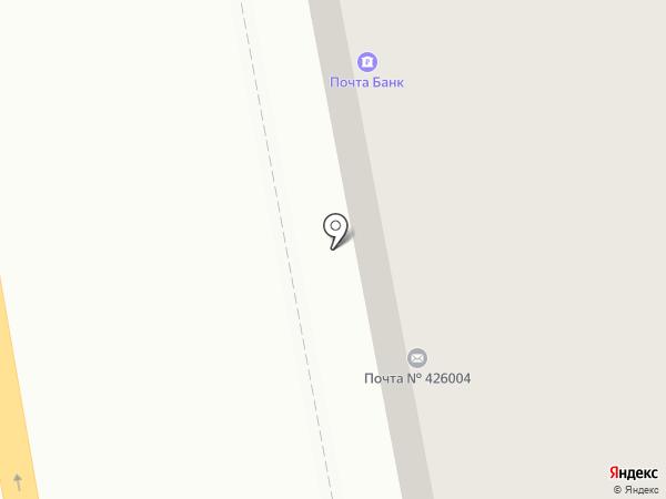 Rezultat на карте Ижевска