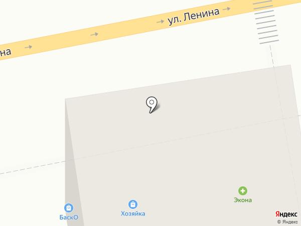 Экона на карте Ижевска