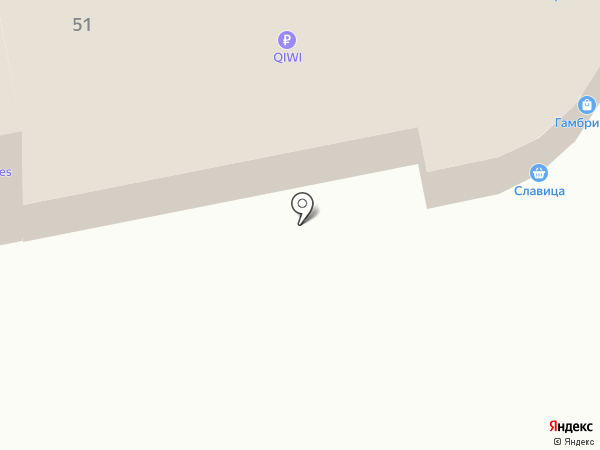 Папа-Лаваш на карте Ижевска