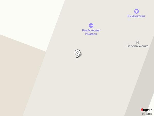 Патриот18 на карте Ижевска