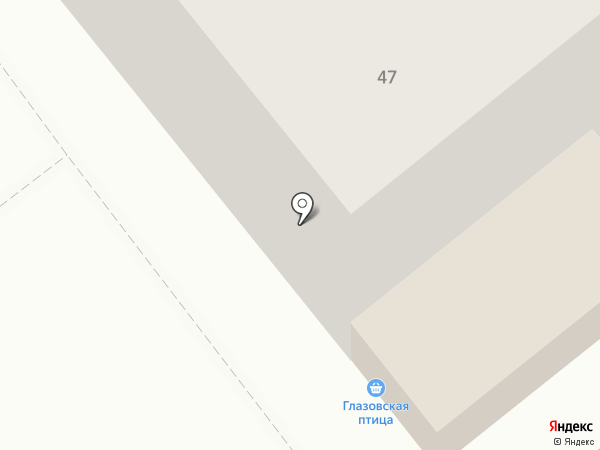 Магазин овощей и фруктов на карте Ижевска
