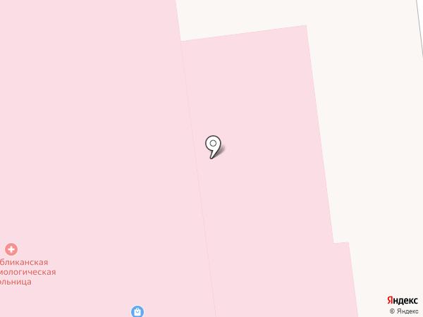 Республиканская офтальмологическая больница на карте Ижевска