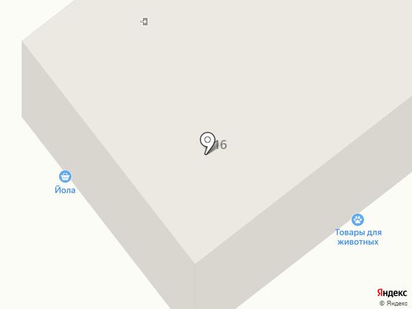 Уютель на карте Ижевска