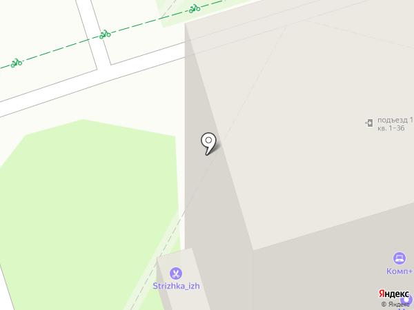Якудза на карте Ижевска