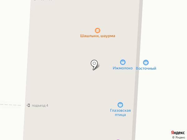 Любимая на карте Ижевска