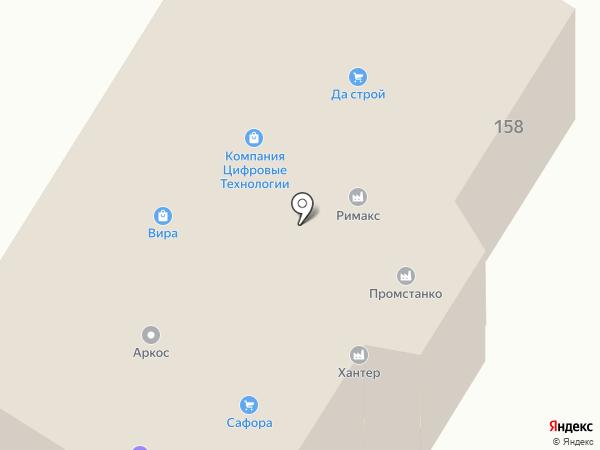 Да-строй на карте Ижевска