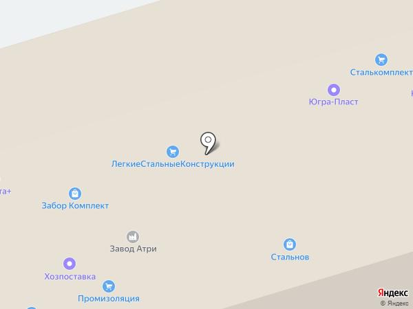 Компания Оникс на карте Ижевска