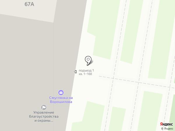 Управление благоустройства и транспорта на карте Ижевска