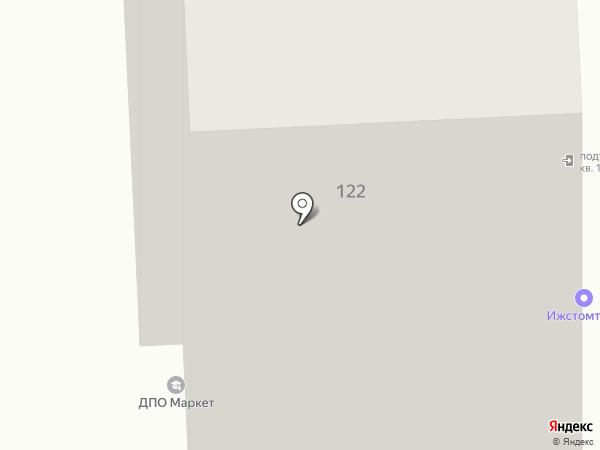 Ижстомторг на карте Ижевска