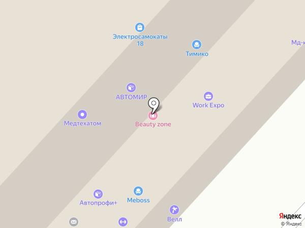 Цветы Удмуртии на карте Ижевска