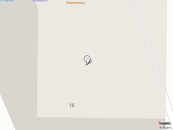 Изюм на карте Ижевска