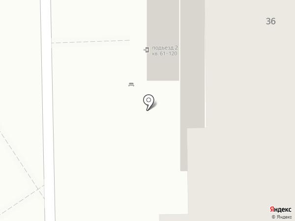 Ракетный-1, ТСЖ на карте Ижевска