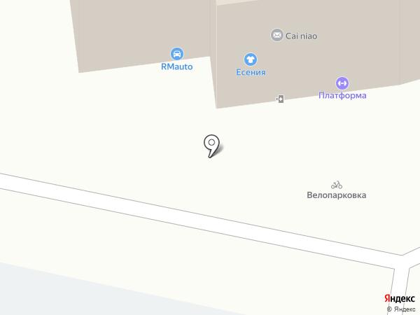 Антре на карте Ижевска