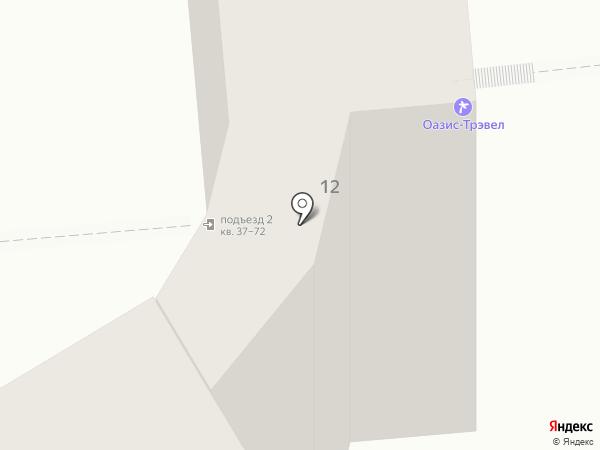 Приоритет-Тур на карте Ижевска