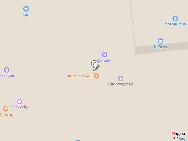Yota на карте Ижевска